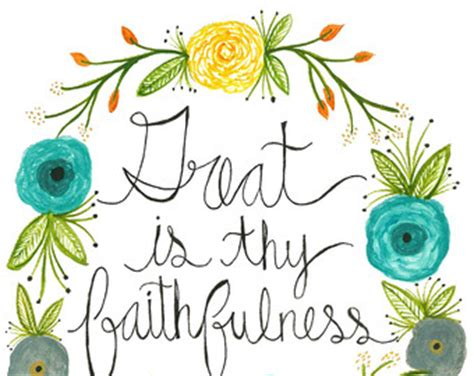 Essay about gods faithfulness